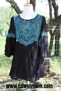 Brands :: Double D Ranch :: DOUBLE D RANCH SPRING 2014 DE VARGAS TUNIC IN BLACK! - Native American Jewelry|Ladies Western Wear|Double D Ranc...http://www.cowgirlkim.com/cowgirl-brands/double-d-ranch/double-d-ranch-spring-2014-de-vargas-tunic-in-bright-pink-clone.html