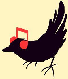 Listening to My Own Song Art Print Gift For Music Lover, Music Lovers, Graffiti, Cross Art, Music Pics, Music Humor, Me Me Me Song, Listening To Music, Illustration Art