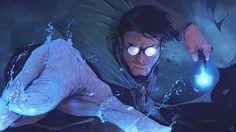 Harry Potter, Tonton Revolver on ArtStation at https://www.artstation.com/artwork/E1OV4