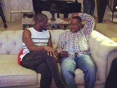 Welcome to Koko level's Blog | Koko level's: Peter Okoye of Psquare hosts Aliko Dangote at his ...
