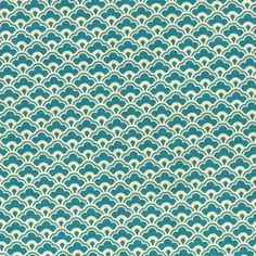 Tiny Damask Teal