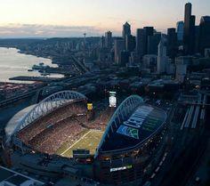 CenturyLink Field, Home to the Seattle Seahawks and the Seattle Sounders. Go Seahawks. Seattle Seahawks Stadium, Seahawks Fans, Seattle Sounders, Seahawks Football, Century Link, Centurylink Field, Photo Store, Girls Getaway, Seattle Washington