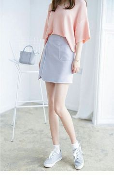 ideas for moda juvenil coreana 2019 - fashion - Korea Images Korean Fashion Pastel, Korean Fashion Summer Casual, Korean Fashion Street Casual, Korean Fashion Ulzzang, Korean Fashion Dress, Korean Fashion Men, Korean Outfits, Skirt Fashion, Fashion Outfits