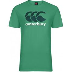 Classic Logo Tee Green - from Canterbury UK