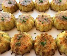 Recette muffins pomme de terre-jambon-fromage par DrIuT - recette de la…