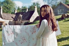 Christina Strutt and A Field of Cabbages and Roses Gardenias, Story Inspiration, Character Inspiration, Millie Brady, The Last Kingdom, English Village, Country Girls, Summer 2014, Beauty And The Beast