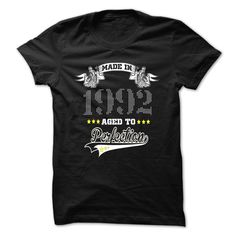 Perfection-1992 T Shirts, Hoodies. Check price ==► https://www.sunfrog.com/LifeStyle/Perfection-1992.html?41382 $21.99