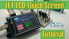 Arduino TFT LCD Touch Screen Tutorial