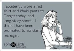Oh My Freaking Stars!: Target & Khakis