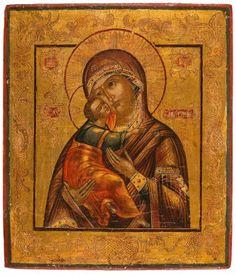 Ikoon: Moeder Gods Vladimirskaja