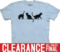 The Mountain - 3 Black Cats T-Shirt - Clearance, $13.20 (http://shop.themountain.me/3-black-cats-t-shirt-clearance/)