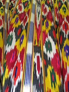 Trends and Sense: Uyghur prints; being accidentally fashionable