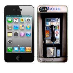 ''Anybody Got A Dime'' Pay Phone Fun iPhone Case