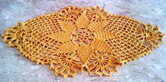 Tecendo Artes em Crochet: Um Centrinho muito Fofo!