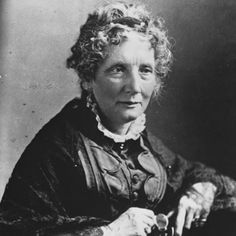 'Uncle Tom's Cabin' author Harriet Beecher Stowe, whose anti-slavery writing inflamed sectional tension before the Civil War.