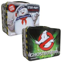 BLOG DOS BRINQUEDOS: Ghostbusters Stay Puft Tin Tote Lunch Box