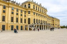 Palace Schönbrunn - the summer residence of the Habsburgs. The stunning Baroque palace is a must-visit destination on your Viennese trip. Vienna, Palace, Louvre, Building, Summer, Travel, Summer Time, Viajes, Buildings