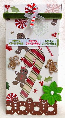 Barb's Cards and Gifts: Candy Cane Box