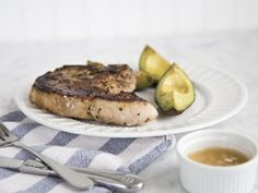 Paleo for Beginners Pan-Seared Pork Chops With Roasted Avocado