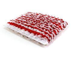 "Organza Satin Ruffle Lace Trim 1"" (pack of 25 yard)"