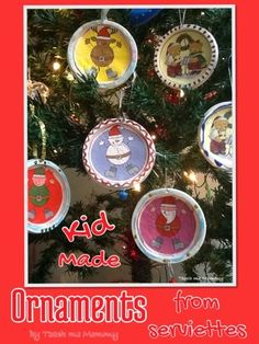 Do you follow us on Facebook, Twitter, Pinterest and Instagram? We love making our own ornaments for our Christmas tree. Every year we make a few, and I write the year at the back. It is so special to take it out at Christmas time each year and see, and remember the previous years. (I'm such a sentimental mom!) …