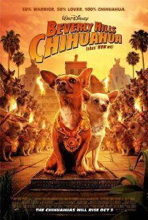 Beverly Hills Chihuahua (2008)  91 min-Adventure  Comedy  Drama -3October2008 (USA)  While on vacation in Mexico, Chloe, a ritzy Beverly Hills chihuahua, finds herself lost and in need of assistance in order to get back home.