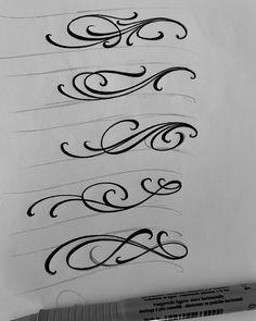Graffiti Lettering Alphabet, Tattoo Fonts Alphabet, Chicano Lettering, Tattoo Lettering Styles, Script Lettering, Lettering Design, Calligraphy Tattoo, Tattoo Script, Lettrage Chicano
