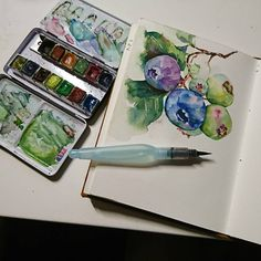 """915 Likes, 11 Comments - Wei (@weitaillandier) on Instagram: """"Monday quick sketch, it's a thing,lol #watercolor #sketch #sketchbook #artjournal…"""""""