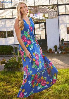 9bf6ab9787f Brilliant Daydream, Spring 2019, Dream Weaver Maxi Dress. This super  flattering maxi is