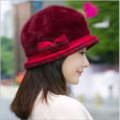 Ear Flower Beret Hat Warm Spring Autumn Women Rabbit Fur Winter Hat For Women Girls Point Hats Caps Hat Women Skullies #>=#>=#>=#>=#> Click on the pin to check out discount price, color, size, shipping, etc. Save and like it!