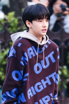 Find KPOP Sweaters & KPOP Cardigans, Stray Kids Clothing for an affordable price K Pop, Jhope, Taehyung, Pop Bands, Lee Min Ho, Rapper, Mode Kpop, Park Jinyoung, Korean Boy