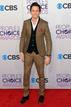We'd choose Eddie Redmayne every time at the People's Choice Awards 2013