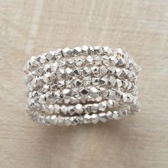 beaded ring quintet