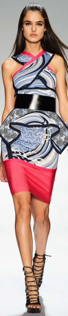 LOOKandLOVEwithLOLO: SPRING 2015 RTW......featuring HERVÉ LÉGER BY MAX AZRIA