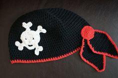 Mütze Bandana Pirat von Sternen - Welt auf DaWanda.com