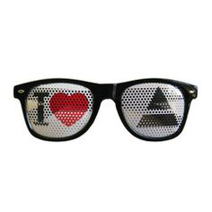 These fun new shades are a must have for your next Thirty Seconds To Mars show!  Front silkscreen and pad print to represent your band.  Plastic frame and lens, non-polarized.  Unisex adult size (fits 12 years old and up).  See-through lens print (design has minor impact on visibility).  Waterproof and scratch resistant lens print.