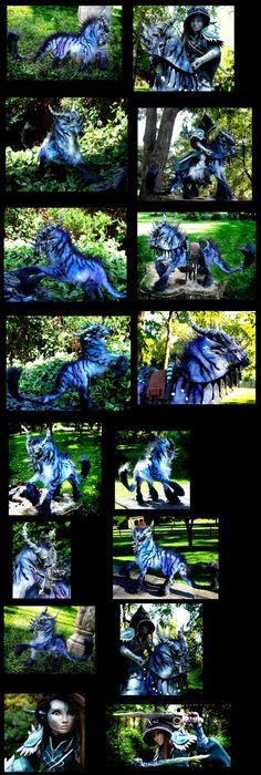 eBayPosable Dragon Horse Mount by Wood-Splitter-Lee
