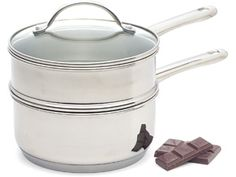 Endurance Double Boiler with Insert and Lid (2-qt.) by RSVP International at Food Network Store
