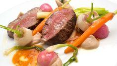 Receta de Venado con puré de castañas del Bierzo #caza #receta
