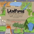 I am SUPER excited about this lesson! This is a fun, interactive MIMIO .ink whiteboard activity for Landforms.Landforms included are:oceans, ca...