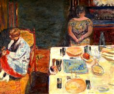 Before Dinner Pierre Bonnard 1924