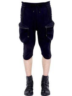 ALEXANDRE PLOKHOV NEOPRENE CARGO SHORTS, BLACK. #alexandreplokhov #cloth #shorts