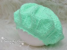 Check out this item in my Etsy shop https://www.etsy.com/listing/528654468/crochet-baby-toddler-beret-hat