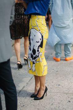 #NYFW street style [Photo: Liz Devine]