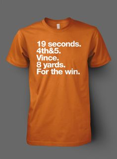 19 Seconds. Vince Young. 8 Yards. For The Win. Texas Longhorns.