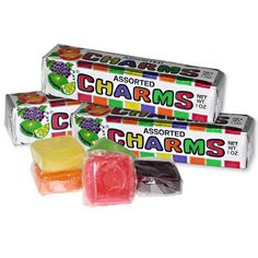 Charms Assorted Squares from Blooms Candy & Soda Pop Shop. Saved to CANDY. Shop more products from Blooms Candy & Soda Pop Shop on Wanelo. 90s Childhood, My Childhood Memories, Great Memories, School Memories, Retro Candy, Vintage Candy, 90s Candy, Vintage Sweets, Vintage Food