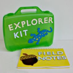 Craft for kids: Explorer Kit and Field Notes Book