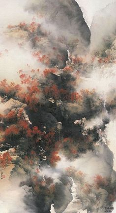 Chinese Landscape Painting, Chinese Painting, Chinese Art, Landscape Art, Landscape Paintings, Scenery Wallpaper, Wallpaper Backgrounds, Wattpad Background, Overlays Picsart