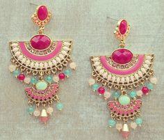Desert Queen Earrings - GORGEOUS ahhh!
