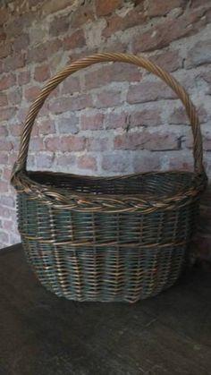 Antique Basket With Original Paint